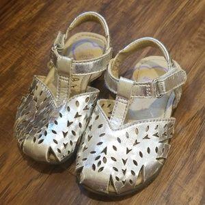 Silver Stride Rite Sandals